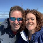 About Me Gallery: Jill Hagner with husband Jeff.
