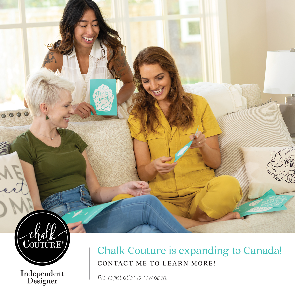 Chalk Couture Expands to Canada