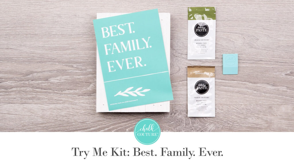 Try Me Kit: Best. Family. Ever - contents