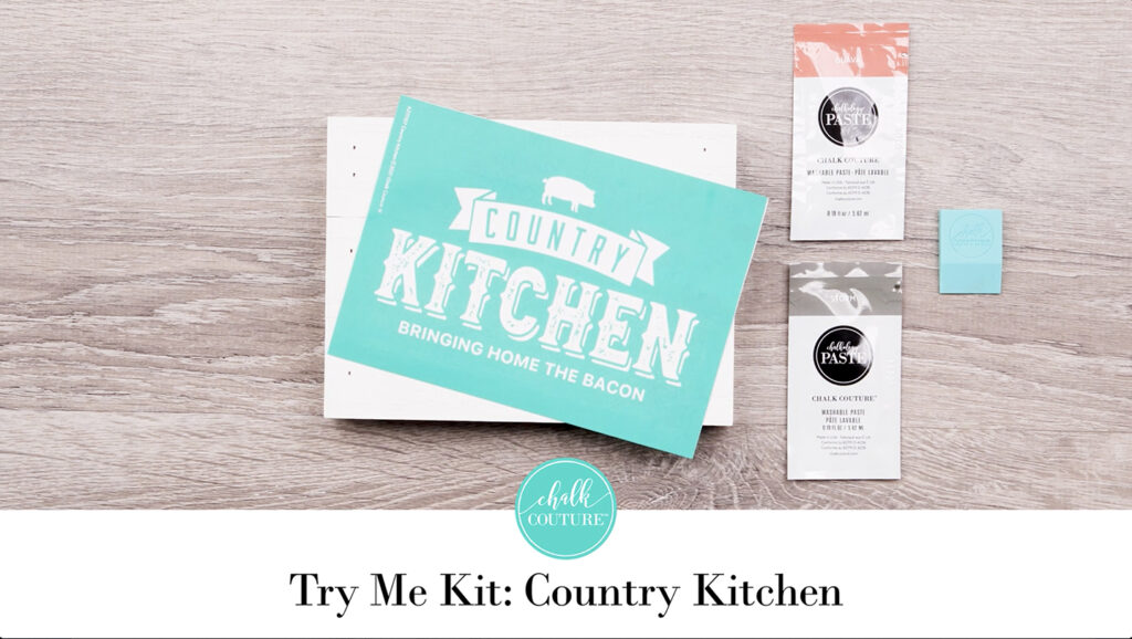 Try Me Kit: Country Kitchen - contents