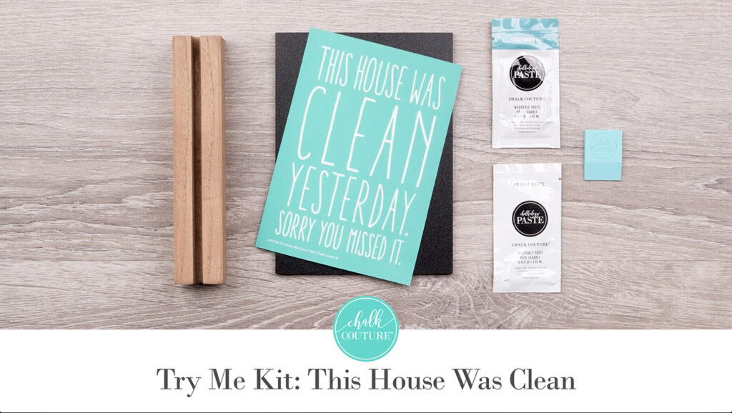 Try Me Kit: This House Was Clean - contents