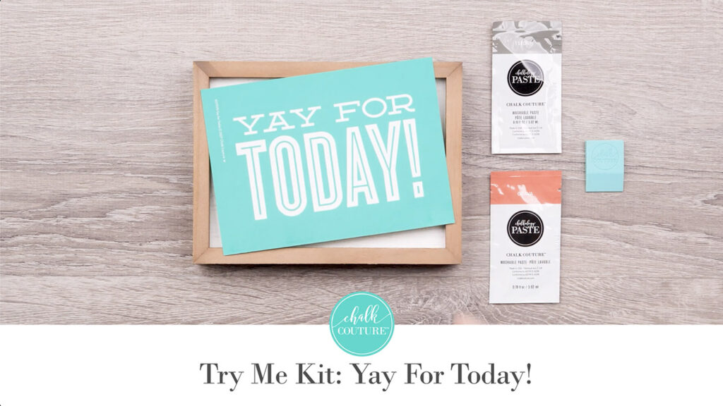 Try Me Kit: Yay for Today - contents